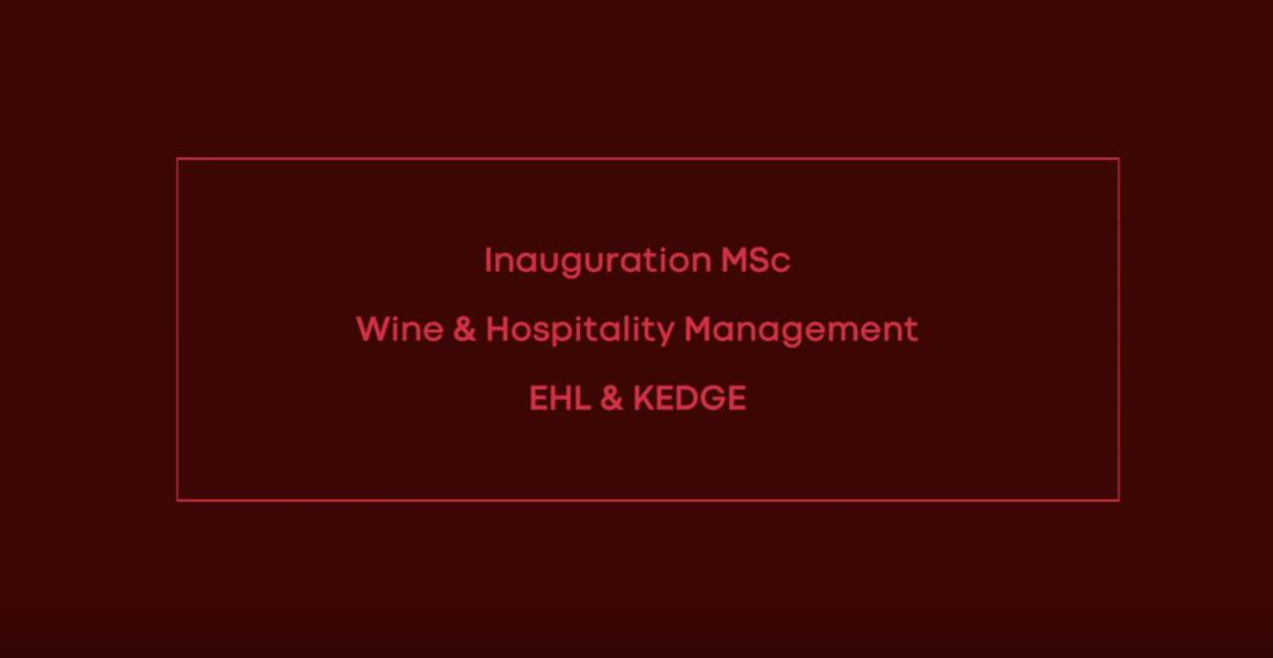 Experience the world of wine & hospitality - KEDGE