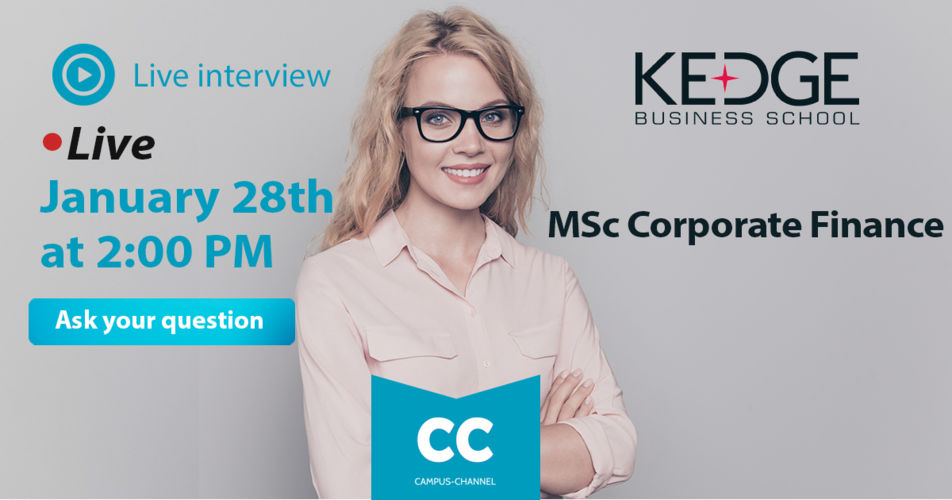 Campus Channel Corporate Finance - KEDGE