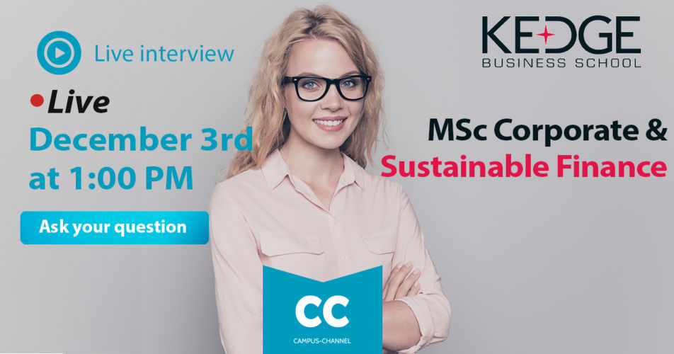 Campus Channel Sustainable Finance - KEDGE