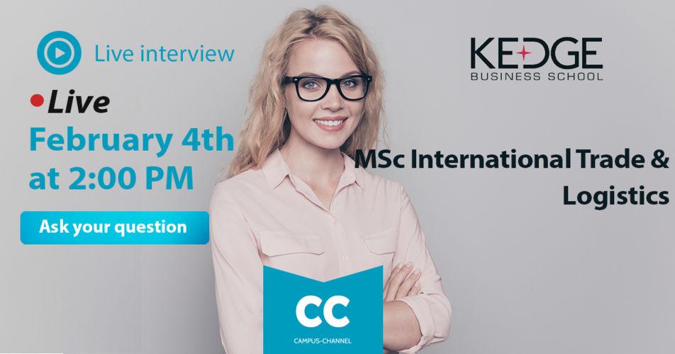Campus Channel International Trade & Logistics - KEDGE