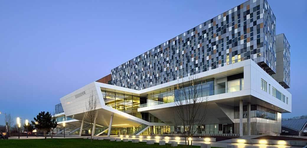 Campus Bordeaux KEDGE vue extérieure