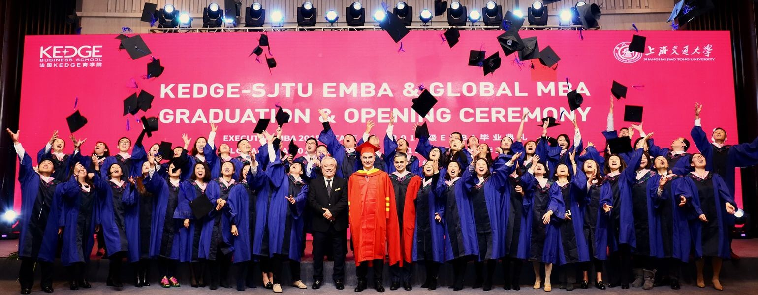 KEDGE - SJTU EMBA & Global MBA Graduation & Opening Ceremony - KEDGE