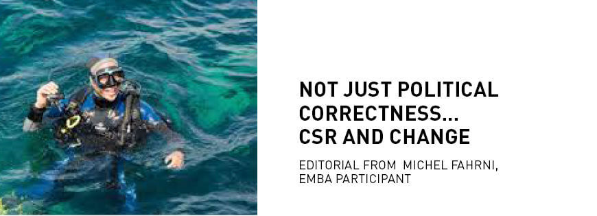 Not just political correctness… CSR and change - KEDGE