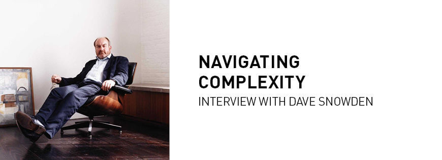 Interview Dave Snowden: navigating complexity - KEDGE