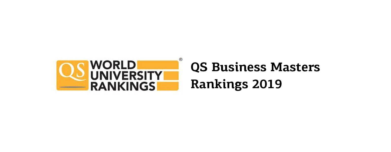 2019 QS rankings of Masters : 3 MSc from KEDGE ranked - KEDGE