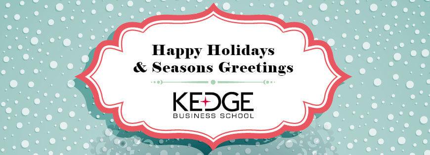 Happy new year! - KEDGE