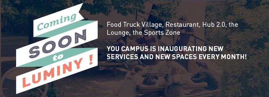Luminy Campus is inaugurating new services and new spaces every month! - KEDGE