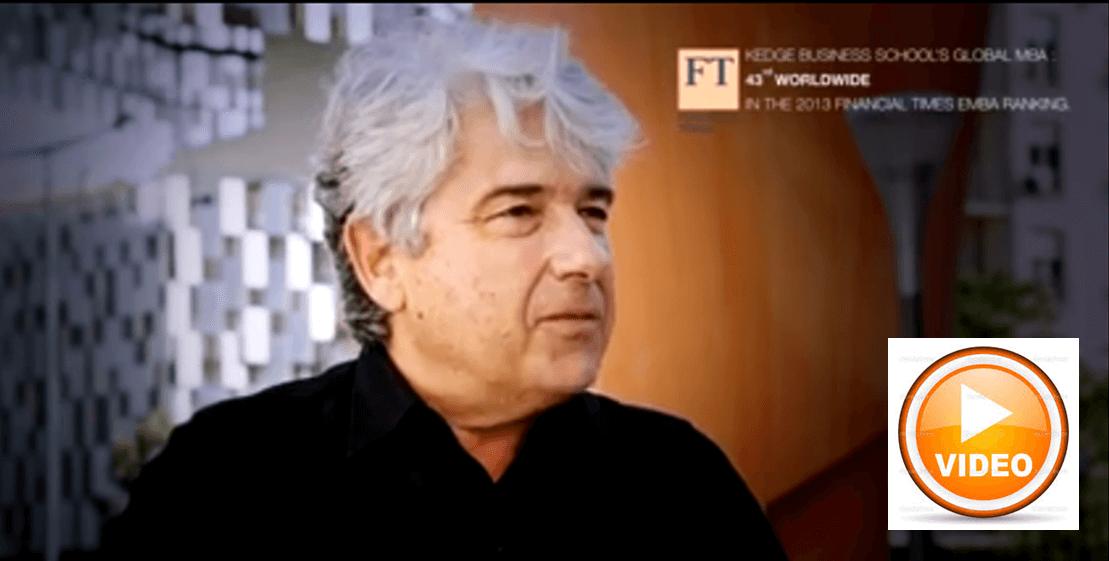 Interview Michel Gutsatz: MBA - an innovative learning experience - KEDGE